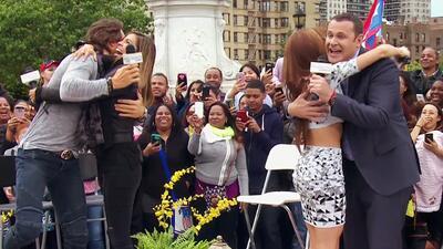 Angelique Boyer y Sebastián Rulli repartieron besos en Despierta América