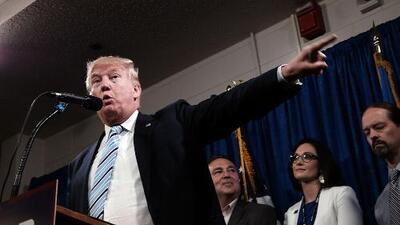 Donald Trump alcanzó hoy el número de delegados para ser el candidato republicano