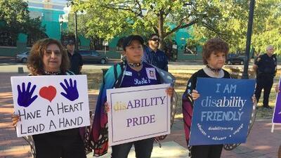 Celebrán el orgullo por la discapacidad en San Antonio