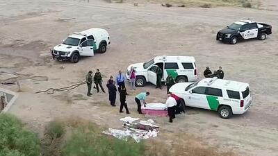 Siguen apareciendo cuerpos en un canal cerca del muro que divide a El Paso y Ciudad Juárez