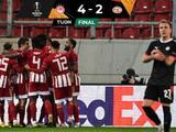 ¡Partidazo en El Pireo! Olympiakos tunde al PSV de Erick Gutiérez