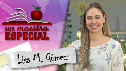Un Maestro Especial 2017: Lisa M. Gomez