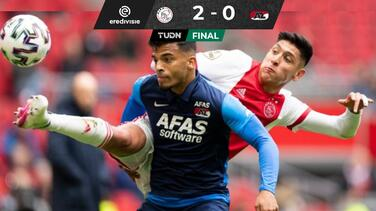 ¡Un punto! Edson acaricia el título de la Eredivisie