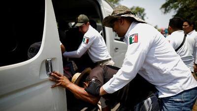 """""""Nos agarraron sin piedad, como animales"""": México detiene a 367 inmigrantes indocumentados que iban a EEUU"""