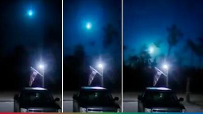 (Video) Meteorito de tamaño espectacular causa pánico entre ciudadanos de Florida