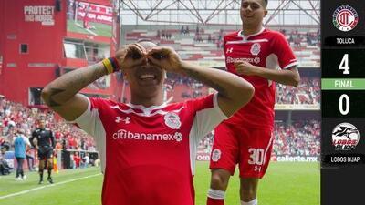 Toluca 4-0 Lobos BUAP - RESUMEN Y GOLES – Clausura 2019 Liga MX