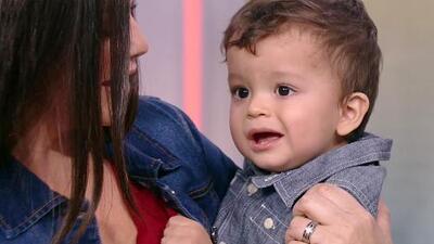 El bebé de Ana Patricia tiene 'mamitis': esto fue lo que provocó la visita de Gael a Despierta América