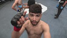 ¡Lo destruyó! José Alday vence por KO a Marcos Lopez en el primer asalto