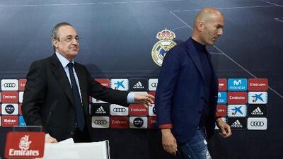 ¿Reivindicación o desesperación? Florentino Pérez y el llamado de emergencia a Zidane