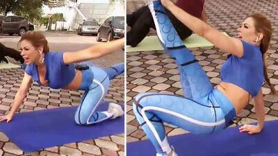 Con estos ejercicios de Claudia Molina quemarás toda la grasa del pavo de 'Thanksgiving'