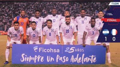Con muchos apuros Honduras derrotó a Martinica