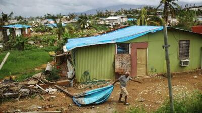 La isla no termina de recuperarse del golpe de María hace dos años, según los alcaldes