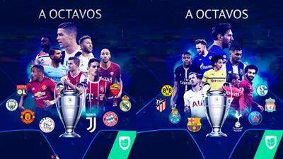 ¡A octavos de final! Estos son los equipos clasificados a la siguiente fase de la Liga de Campeones