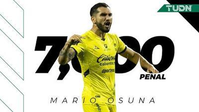 ¡Llegó el penal 7 mil en la Liga MX!