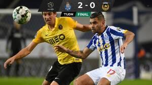Porto, con el Tecatito, venció al Rio Ave y acosa al Sporting