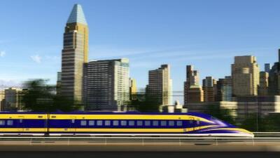 Los trenes rápidos están llegando a EEUU… lentamente