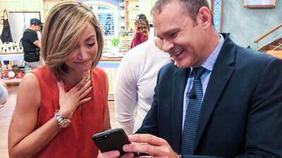 Detrás de cámaras: la reacción de Alan Tacher al ver que su hijo era varón hizo llorar a Satcha