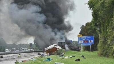 Un grupo de Boy Scouts de Miami Shores sobrevive a un aparatoso accidente en una autopista de Florida