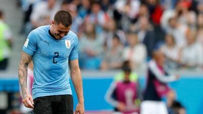 El conmovedor llanto de 'Josema' Giménez minutos antes de que Uruguay quedara eliminado