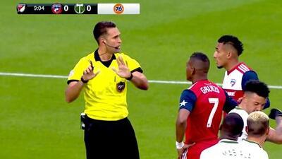 El VAR valida el gol de Jesús Ferreira y FC Dallas ya gana 1-0 sobre Portland