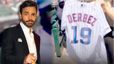 Eugenio Derbez 'rebautiza' la casa de los Chicago Cubs y luego lanza la primera bola