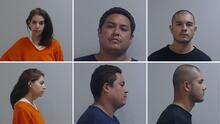 Ficha policial: Las fotografías de la cárcel de los tres arrestados acusados por el asesinato de Rossana Delgado