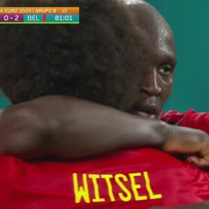 ¡Golazo! De Bruyne asiste y Lukaku remata de media vuelta para el 0-2