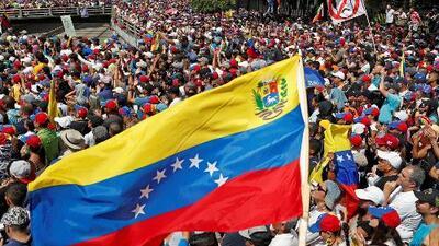 Continúa la tensión política en Venezuela y persisten las manifestaciones en diferentes partes del mundo