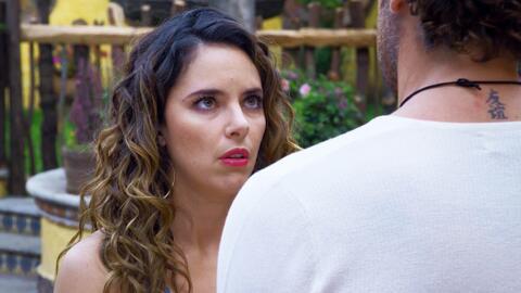 'Mi marido tiene más familia' - Grecia le confesó a Neto que teme que Yolo acabe con su noviazgo - Escena del día