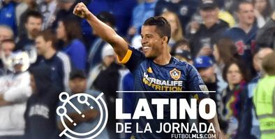 Por tercera semana consecutiva, Giovani dos Santos es elegido Latino de la Jornada