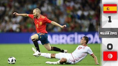 España no despejó las dudas a pesar de vencer por la mínima a Túnez