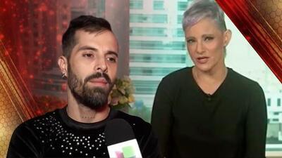 Mike Bahía quiere abandonar Mira Quién Baila y la jueza Lola Cortés lo destroza