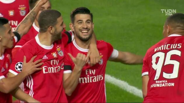 ¡GOOOL! Pizzi anota para Benfica