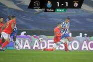 Porto iguala con Benfica y desaprovecha empate de Sporting