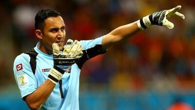 Keylor Navas, el futbolista del año de la Concacaf