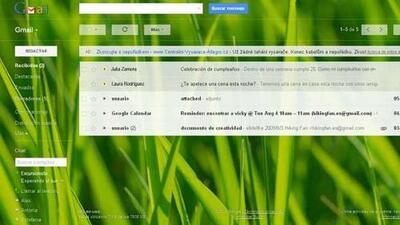 El nuevo look de Gmail