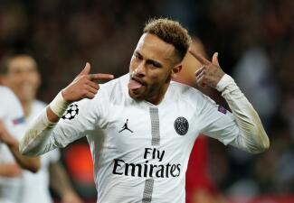 Neymar reapareció tras su lesión y brilló en el triunfo del PSG ante Liverpool