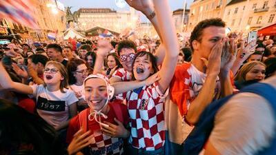 Festejos por el pase a la final del Mundial causaron sismos en Croacia
