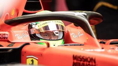 """Puertas que se abren"", dice Mick Schumacher tras estreno con Ferrari"