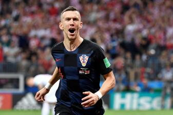 En fotos: Ivan Perisic, el pulmón extra que llevó a Croacia hasta la final del Mundial de Rusia 2018