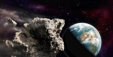 Un gigantesco asteroide del tamaño de los dos edificios más altos del mundo pasará cerca de la Tierra