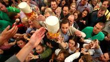 Oktoberfest es inaugurado en medio de un fuerte operativo de seguridad