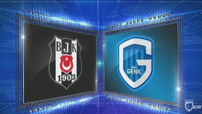 Besiktas 2-4 Genk - GOLES Y RESUMEN - Grupo I UEFA Europa League