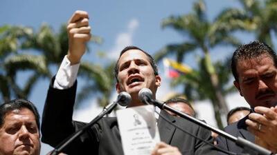Juan Guaidó es reconocido como presidente interino de Venezuela por el gobierno de EEUU