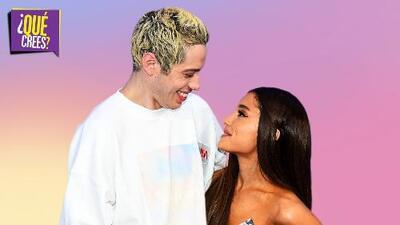 Culmina el cuento de amor por el que nadie apostó, Ariana Grande y Pete Davidson son historia