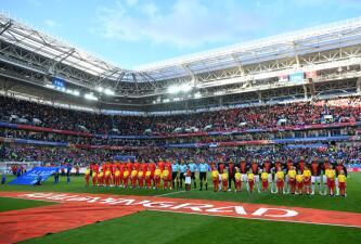 En fotos: Suiza viene de atrás y con gol de Shaqiri vence 2-1 a Serbia