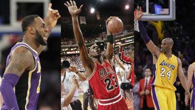 Jordan, Kobe o LeBron: ¿quién es el mejor de la historia en la NBA?