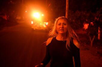 En fotos: Pavorosos incendios obligan a la evacuación de miles de residentes del sur de California