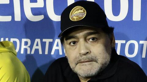 La liga de Ascenso MX multa a Maradona