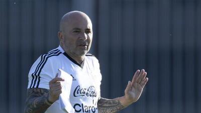Jorge Sampaoli fue confirmado como entrenador de la selección argentina